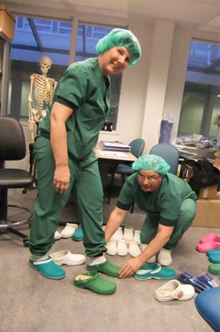 Schoenen voor in de verpleging